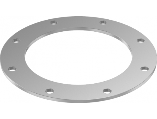 JACOB-flanges drilled acc. to DIN 24154, T2