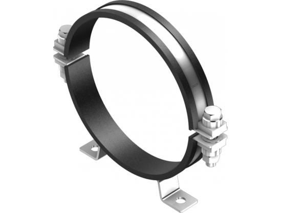 Pipe-clamps for ceiling-mounting