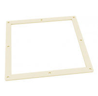 Gasket for transition piece from square to round