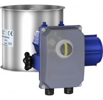 Throttle- / Shut-off valves without seal, electrically-operated with adjustable Deufra drive